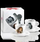 Комплект чаши за еспресо Milo Manara Collection Mod. 2