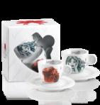 Комплект чаши за еспресо Milo Manara Collection Mod. 3